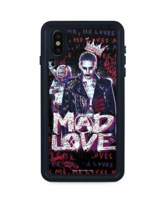 Harley and Joker Mad Love iPhone XS Max Waterproof Case