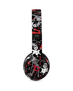 Harley Quinn All Over Print Beats Solo 3 Wireless Skin