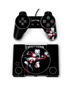 Harley Quinn and The Joker PlayStation Classic Bundle Skin
