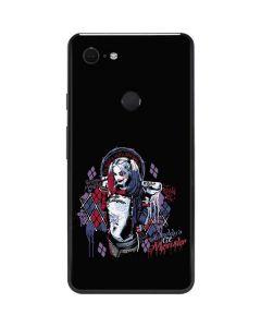 Harley Quinn Daddys Little Monster Google Pixel 3 XL Skin