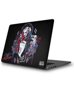 Harley Quinn Daddys Little Monster Apple MacBook Pro Skin