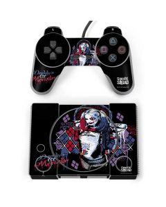 Harley Quinn Daddys Little Monster PlayStation Classic Bundle Skin