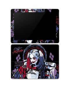 Harley Quinn Daddys Little Monster Surface Go Skin