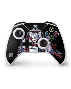 Harley Quinn Daddys Little Monster Xbox One S Controller Skin