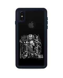 Harley Quinn Insanity Suites You iPhone X Waterproof Case