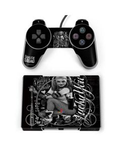 Harley Quinn Insanity Suites You PlayStation Classic Bundle Skin