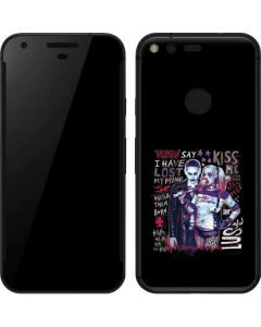 Harley Quinn Madly in Love Google Pixel Skin