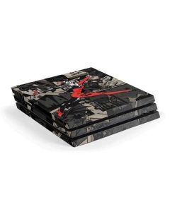 Harley Quinn Mixed Media PS4 Pro Console Skin
