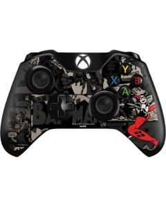 Harley Quinn Mixed Media Xbox One Controller Skin