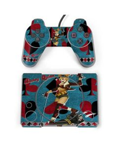 Harley Quinn PlayStation Classic Bundle Skin
