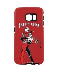 Harley Quinn Portrait Galaxy S7 Edge Pro Case