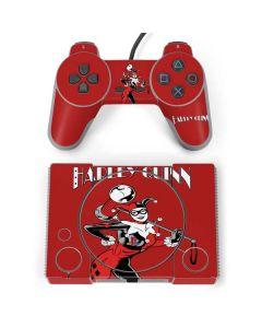 Harley Quinn Portrait PlayStation Classic Bundle Skin