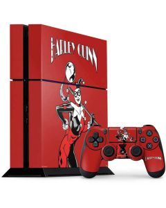 Harley Quinn Portrait PS4 Console and Controller Bundle Skin