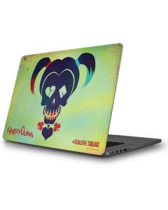 Harley Quinns Skull Print Apple MacBook Pro Skin