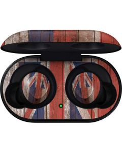Hawaiian Flag Dark Wood Galaxy Buds Skin