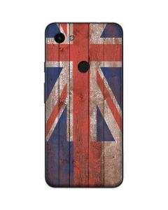 Hawaiian Flag Dark Wood Google Pixel 3a Skin