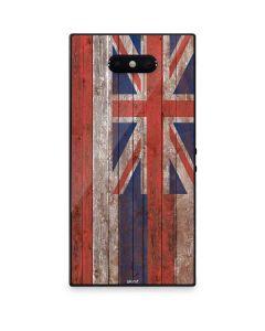 Hawaiian Flag Dark Wood Razer Phone 2 Skin