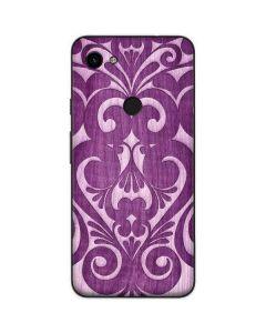 Heart Purple Google Pixel 3a Skin