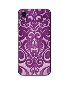 Heart Purple iPhone XR Skin