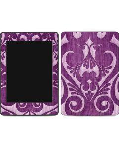 Heart Purple Amazon Kindle Skin