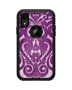 Heart Purple Otterbox Defender iPhone Skin