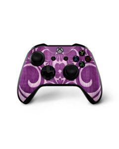 Heart Purple Xbox One X Controller Skin