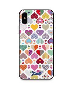 Heartless iPhone X Skin