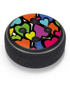 Hearts Amazon Echo Dot Skin