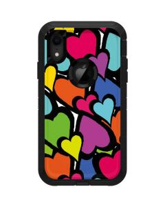 Hearts Otterbox Defender iPhone Skin