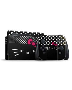 Hello Kitty Black Nintendo Switch Bundle Skin