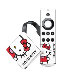 Hello Kitty Classic White Amazon Fire TV Skin