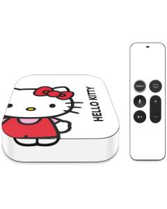 Hello Kitty Classic White Apple TV Skin