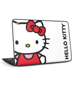 Hello Kitty Classic White HP Chromebook Skin