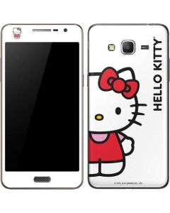 Hello Kitty Classic White Galaxy Grand Prime Skin