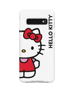 Hello Kitty Classic White Galaxy S10 Plus Lite Case