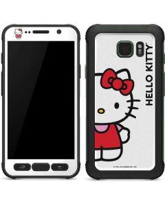 Hello Kitty Classic White Galaxy S7 Active Skin