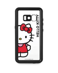 Hello Kitty Classic White Galaxy S8 Waterproof Case