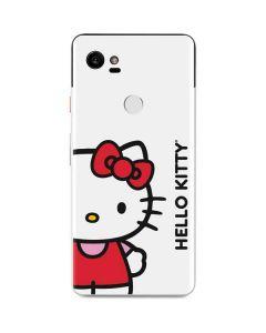 Hello Kitty Classic White Google Pixel 2 XL Skin