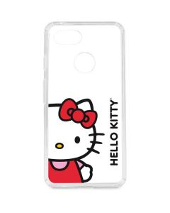 Hello Kitty Classic White Google Pixel 3 Clear Case