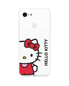 Hello Kitty Classic White Google Pixel 3 Skin