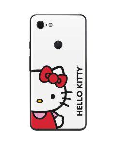 Hello Kitty Classic White Google Pixel 3 XL Skin