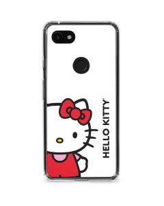 Hello Kitty Classic White Google Pixel 3a Clear Case