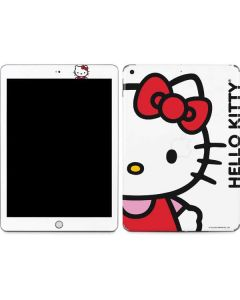 Hello Kitty Classic White Apple iPad Skin