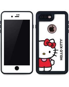 Hello Kitty Classic White iPhone 8 Plus Waterproof Case