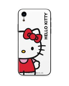 Hello Kitty Classic White iPhone XR Skin