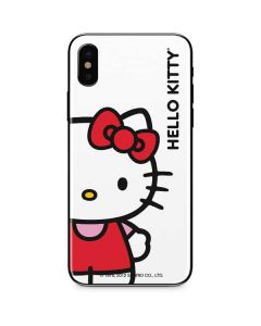 Hello Kitty Classic White iPhone XS Skin