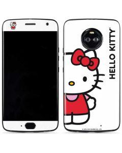 Hello Kitty Classic White Moto X4 Skin