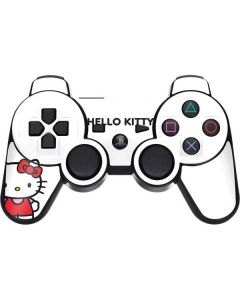 Hello Kitty Classic White PS3 Dual Shock wireless controller Skin