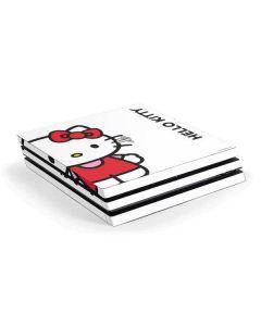 Hello Kitty Classic White PS4 Pro Console Skin