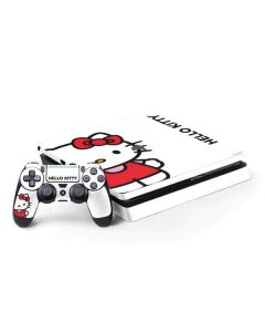 Hello Kitty Classic White PS4 Slim Bundle Skin